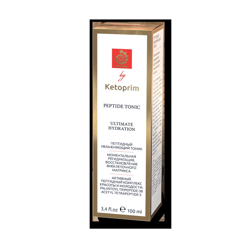 Пептидный увлажняющий тоник Ketoprim®, 100 ml