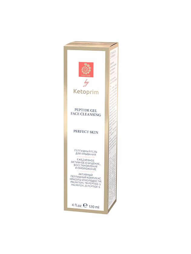 Пептидный гель для умывания Ketoprim®, 120 ml