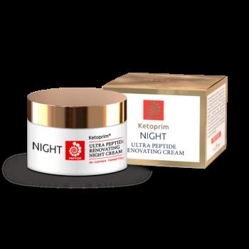 Пептидный ночной крем для лица Ketoprim® Peptide, 50 ml